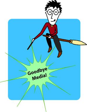 Harry Potter Says: Goodbye Media!